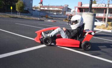 behold the first electric smart kart for kids