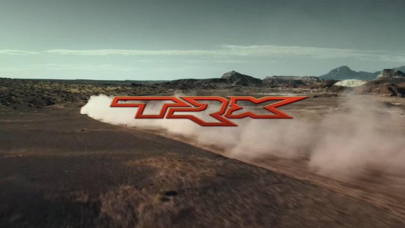 ram 1500 trx thunders across the desert ahead of august 17 debut